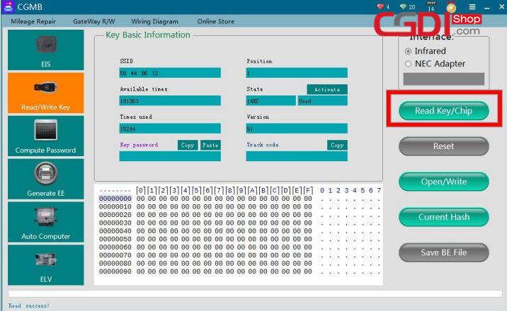 cgdi-mb-repair-w211-hopping-code-7