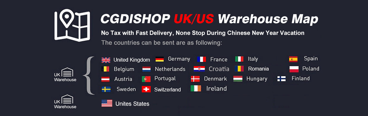 CGDISHOP UK/US Wareshop