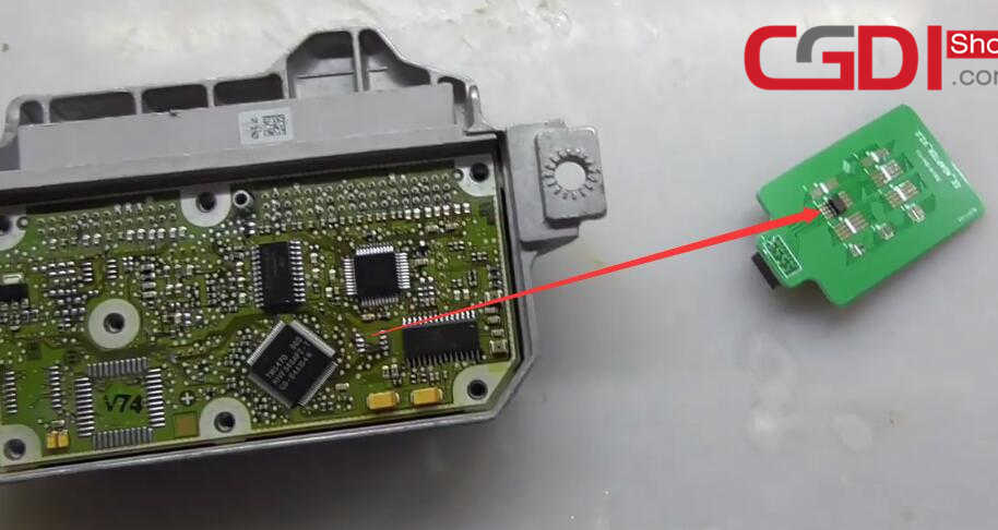 CG100 III to Repair BMW Airbag Module (9)