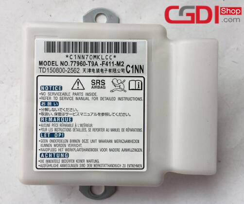 How to Use CG100 Prog to Repair Honda Airbag Module (1)