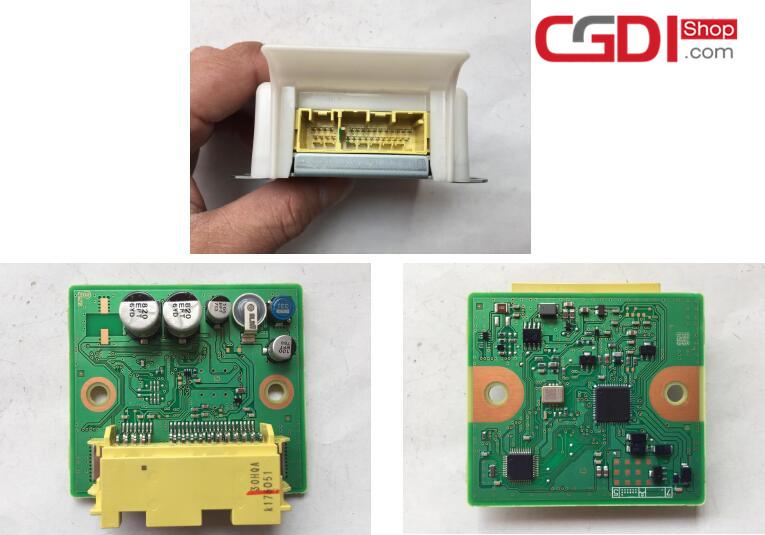 How to Use CG100 Prog to Repair Honda Airbag Module (2)