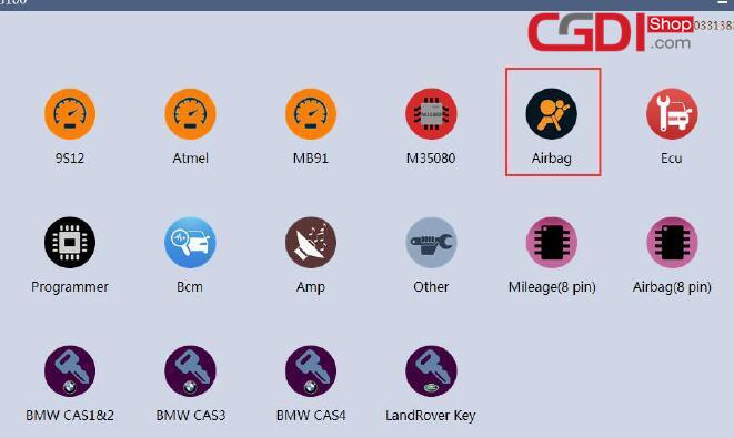How to Use CG100 Prog to Repair Honda Airbag Module (3)