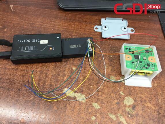How to Use CG100 Prog to Repair Honda Airbag Module (6)