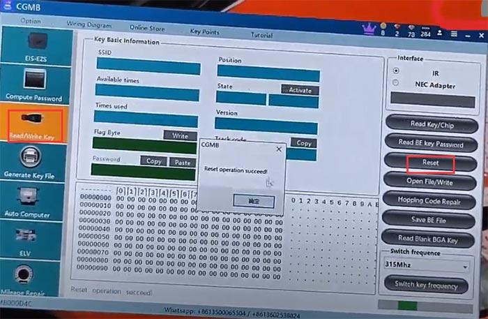 cgdi mb add benz w166 m1350 keyless go 4