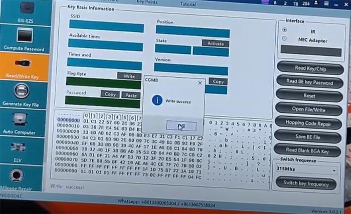 cgdi mb add benz w166 m1350 keyless go 6
