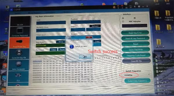 cgdi mb switch frequency cgdi mb be key 3