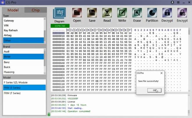 cg pro 9s12 repair bmw frm xeq384 4